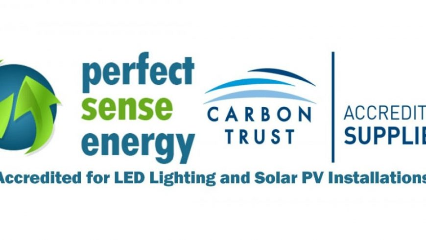 Perfect Sense Energy is Carbon Trust Accredited!