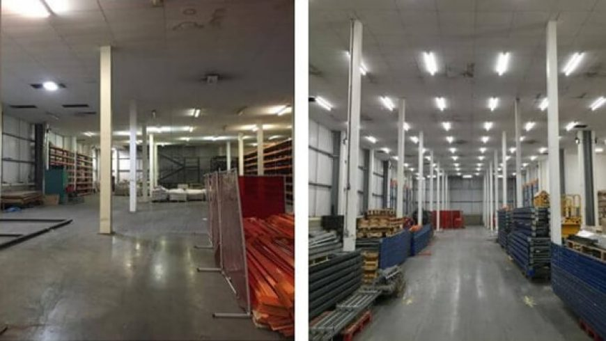 LED Lighting for Factories and Warehouses!